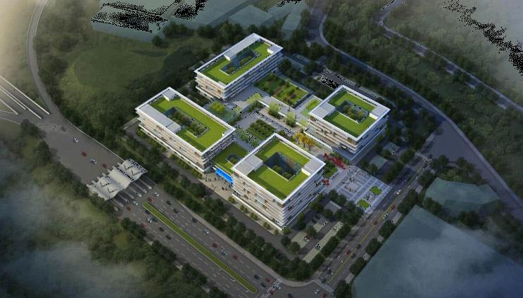重庆綦江科创中心钢结构示范项目