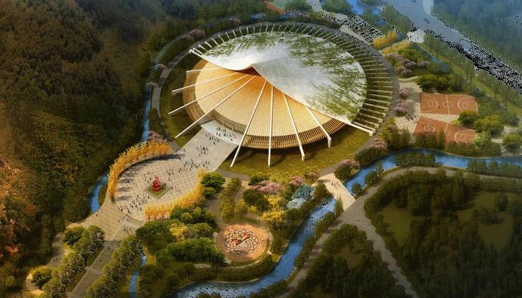 长顺县体育馆建筑设计方案